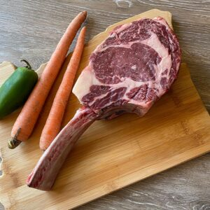 Tomahawk Steak from Oregon Valley Farm