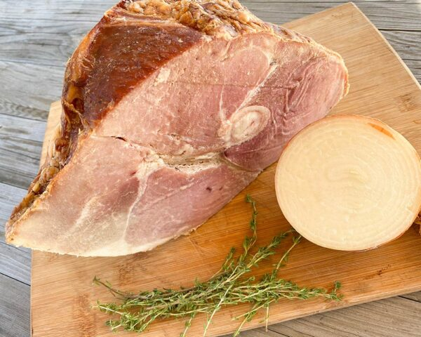 Maple Smoked Ham from Oregon Valley Farm