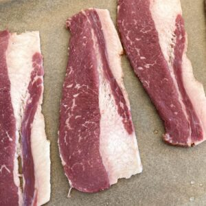 Beef Bacon from Oregon Valley Farm