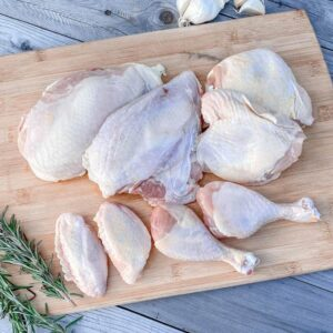 Whole Chicken Cut Up from Oregon Valley Farm