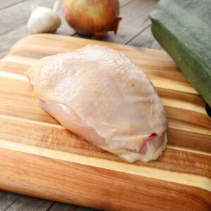 Chicken Breasts Bone In Skin On from Oregon Valley Farm