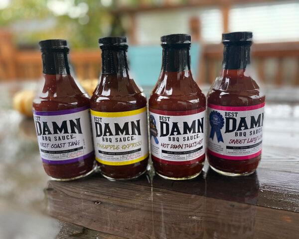 Best Damn BBQ Sauce Gift Pack