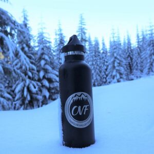 25oz Vacuum Insulated Stainless Steel OVF Water Bottle from Oregon Valley Farm