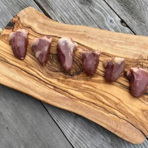 Chicken Hearts from Oregon Valley Farm