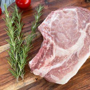 Prime Rib Pork Chop from Oregon Valley Farm